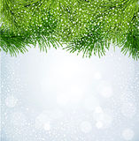 Vector New Year background Royalty Free Stock Photography