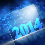 Vector new year. 2014 beautiful design Royalty Free Illustration