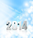 Vector new year 2014 colorful greeting card. Design Vector Illustration