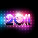 Vector new year design. Vector new year 2011 beautiful design Stock Images