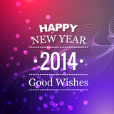 Vector new year design. Happy new year greeting design royalty free illustration