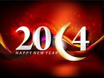 Vector new year 2014 vector illustration