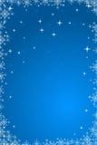 Vector New Year wallpaper. Vector New Year blue wallpaper stock illustration