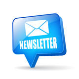 Vector newsletter icon Royalty Free Stock Images
