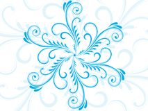 Vector nice floral pattern tattoo Stock Image
