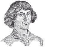 Vector - Nicolaus Copernicus Fotos de archivo libres de regalías