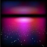 Vector nightsky fantasiewater Stock Afbeelding