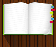 Vector of Note Book Royalty Free Stock Images