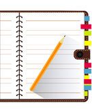 Vector of Note Book Royalty Free Stock Photography