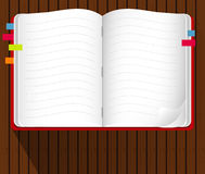 Vector of Note Book Royalty Free Stock Image