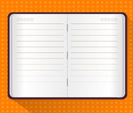 Vector of Note Book Stock Image