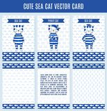 Vector note sea cet Stock Photo