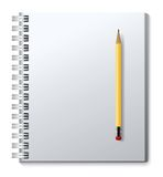 Vector notebook Royalty Free Stock Photos