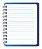 Vector notepad Royalty Free Stock Photo