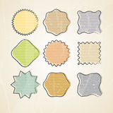 Vector notes elements Royalty Free Stock Image