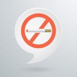 Vector Nr dat - rookt Royalty-vrije Stock Foto's