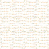 Vector nude circle seamless pattern Royalty Free Stock Image