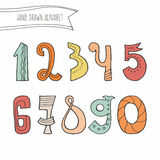 Vector Numbers Stock Photos