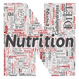 Vector nutrition health diet letter font N. Vector conceptual nutrition health diet letter font N word cloud isolated background. Collage of carbohydrates vector illustration