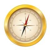 Vector o ícone do compasso Fotografia de Stock