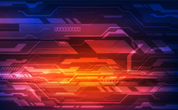Vector o conceito digital da tecnologia da velocidade, fundo abstrato ilustração stock