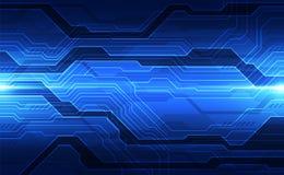 Vector o conceito digital futuro da tecnologia da velocidade, ilustra??o abstrata do fundo ilustração stock