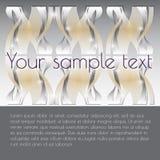 Vector o fundo abstrato com lugar para seu texto Foto de Stock Royalty Free