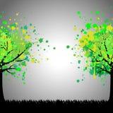 Vector o fundo da árvore ilustração do vetor