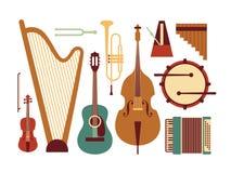 Vector o fundo da música ilustração do vetor