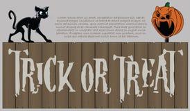 Vector o fundo de Halloween Fotografia de Stock