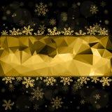 Vector o fundo 2016 do cartão do Feliz Natal e do ano novo feliz para a Web e app móvel, ilustração da arte Fotos de Stock Royalty Free