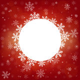 Vector o fundo 2016 do cartão do Feliz Natal e do ano novo feliz para a Web e app móvel, ilustração da arte Fotos de Stock