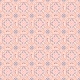 Vector o fundo floral na mono linha estilo na moda Fotografia de Stock Royalty Free