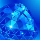 Vector o fundo futurista com o defo textured efervescência do efeito Imagens de Stock Royalty Free
