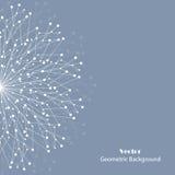 Vector o fundo geométrico Fotos de Stock Royalty Free