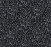 Vector o fundo sem emenda do teste padrão do damasco Elegante Imagens de Stock Royalty Free