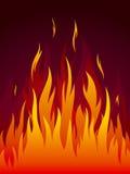 Vector o incêndio ilustração royalty free