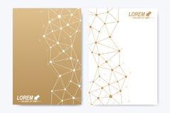 Vector o molde para o folheto, o folheto, o inseto, o anúncio, a tampa, o catálogo, o cartaz, o compartimento ou o informe anual  ilustração royalty free