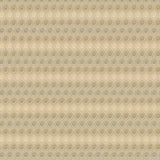 Vector o projeto geométrico bege e marrom do vintage do PNF como o papel de parede Imagem de Stock