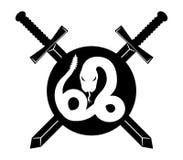 Vector o sinal Serpente Imagens de Stock Royalty Free