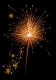 Vector o sparkler realístico Fotografia de Stock Royalty Free