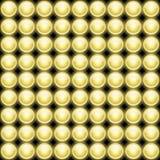 A lâmpada ilumina Backround abstrato Imagem de Stock