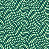 Vector o teste padrão abstrato 3d da geometria do moderno, fundo sem emenda vermelho da geometria da cor Foto de Stock