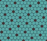 Vector o teste padrão colorido sem emenda moderno da geometria, flores Imagem de Stock Royalty Free
