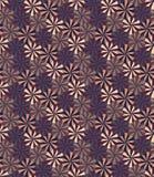 Vector o teste padrão colorido sem emenda moderno da geometria, flores Foto de Stock Royalty Free