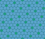 Vector o teste padrão colorido sem emenda moderno da geometria, flores Fotos de Stock