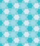 Vector o teste padrão colorido sem emenda moderno da geometria, flores, colora o sumário azul Imagens de Stock Royalty Free