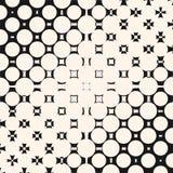 Vector o teste padrão de intervalo mínimo diagonal com morphing formas geométricas ilustração stock