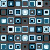 Vector o teste padrão dos quadrados Imagens de Stock Royalty Free