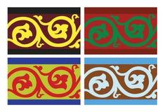 Vector o teste padrão floral Ilustração Royalty Free